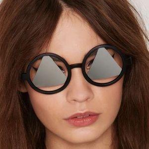 New Nasty Gal Retro Inspired Triangle Sunglasses